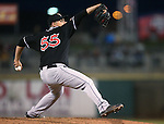 El Paso Chihuahuas' Juan Oramas pitches against the Reno Aces on opening day in Reno, Nev., on Thursday, April 3, 2014. <br /> Photo by Cathleen Allison