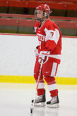 Lauren Cherewyk (BU - 7) - The Northeastern University Huskies defeated the Boston University Terriers in a shootout after being tied at 4 following overtime in their Beanpot semi-final game on Tuesday, February 2, 2010 at the Bright Hockey Center in Cambridge, Massachusetts.