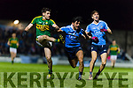 Paul Geaney Kerry in action against Darren Daly Dublin in the National League in Austin Stack park on Saturday night.