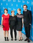 Actress Alba Rohrwacher, Lars Eidinger, Laura Bispuri and Flonja Kodheli promotes his film Sworn Virgin during the LXV Berlin film festival, Berlinale at Potsdamer Straße in Berlin on February 12, 2015. Samuel de Roman / Photocall3000 / Dyd fotografos-DYDPPA.