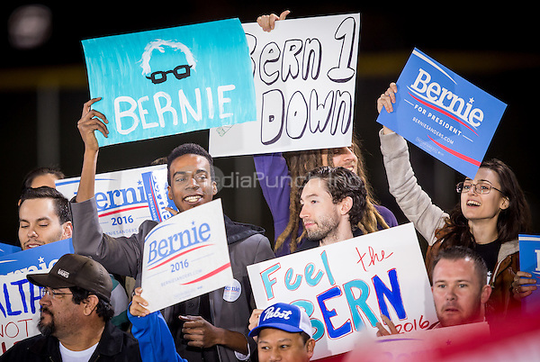 LAS VEGAS, NV - November 8, 2015: Atmosphere at the Bernie Sanders rally in North Las Vegas, NV on November 8, 2015. Credit: Erik Kabik Photography/ MediaPunch