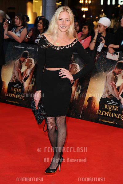 Clara Paget arriving for the UK film premiere of Water For Elephants, at Vue Westfield, west London. 03/05/2011  Picture by: Steve Vas / Featureflash