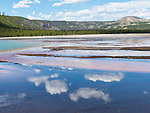 Colors abound at Midway Geyser Basin in Yellowstone National Park.