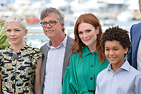 Michelle Williams, Todd Haynes, Julianne Moore &amp; Jaden Michael at the photocall for &quot;Wonderstruck&quot; at the 70th Festival de Cannes, Cannes, France. 18 May 2017<br /> Picture: Paul Smith/Featureflash/SilverHub 0208 004 5359 sales@silverhubmedia.com