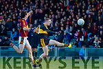 Colm Cooper Dr Crokes in action against Aidan McGuane St Joseph's Miltown Malbay during the AIB Munster GAA Football Senior Club Championship Final match between Dr. Crokes and St. Josephs Miltown Malbay at the Gaelic Grounds in Limerick on Sunday.