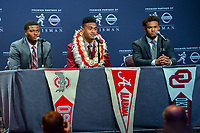 New York, NY - December 8, 2018:    during the Heisman Trophy Award announcemnt at the New York Marriott hotel December 8, 2018.  (Photo by Don Baxter/Media Images International)