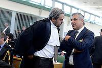 Roma, 19 Novembre 2015<br /> Paolo Ielo, pubblico ministero.<br /> Aula bunker di Rebibbia<br /> Terza udienza del processo Mafia Capitale, Roma Capitale, avvocati,