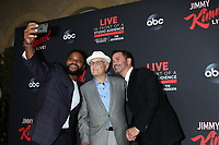 LOS ANGELES - AUG 7:  Anthony Anderson, Norman Lear, Jimmy Kimmel at the An Evening With Jimmy Kimmel at the Roosevelt Hotel on August 7, 2019 in Los Angeles, CA