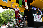 Tony Martin (GER) Team Katusha Alpecin at sign on before Stage 8 of the 104th edition of the Tour de France 2017, running 187.5km from Dole to Station des Rousses, France. 8th July 2017.<br /> Picture: ASO/Pauline Ballet | Cyclefile<br /> <br /> <br /> All photos usage must carry mandatory copyright credit (&copy; Cyclefile | ASO/Pauline Ballet)