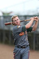 Jesse Hodges #19 of the Boise Hawks during a game against the Everett AquaSox at Everett Memorial Stadium on July 22, 2014 in Everett, Washington. Everett defeated Boise, 6-0. (Larry Goren/Four Seam Images)