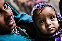 Hasina and her mother, Akloo. It's possible – some say likely – that Hasina's generation will be the last of the Van Gujjars to migrate to the Himalayas.