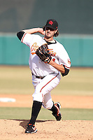 Kam Mickolio - Scottsdale Scorpions - 2010 Arizona Fall League.Photo by:  Bill Mitchell/Four Seam Images..