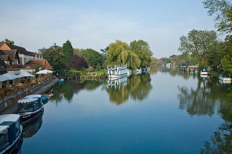 River Thames from Streatley Bridge