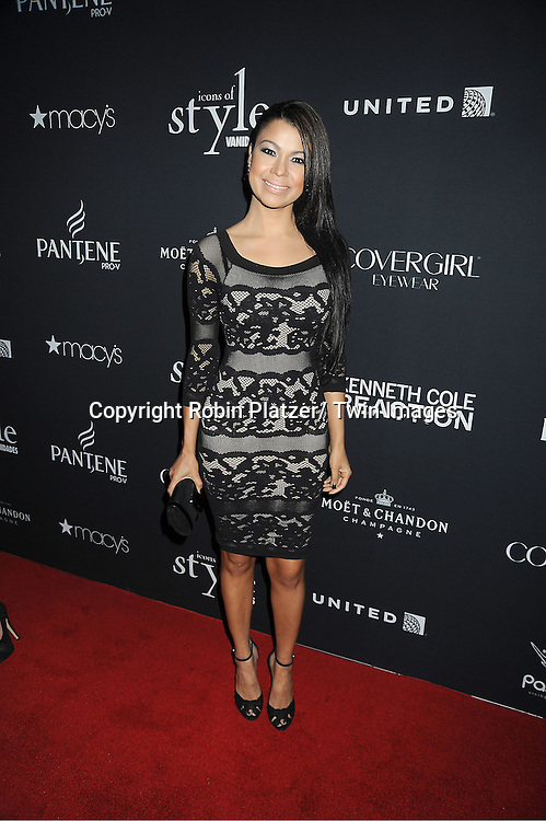 Daneida Polanco attends the Vanidades Magazine  Icons of Style Gala on September 27, 2012 at the Mandarin Oriental Hotel in New York City.