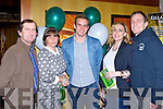 Legion Player of the Year Podge O'Connor with his family at the Legion GAA social in the Killarney Avenue hotel Sunday night l-r: Pakie, Noreen, Padraig O'Connor, Kristine  O'Sullivan and Andrew O'Sullivan