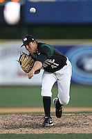 April 10, 2010:  Pitcher Daniel Moskos of the Altoona Curve during a game at Blair County Ballpark in Altoona, PA.  Altoona is the Double-A Eastern League affiliate of the Pittsburgh Pirates.  Photo By Mike Janes/Four Seam Images
