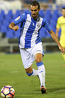 Leganes's Victor Diaz during the XXXVII trophy of Legane's City between CD Leganes and Villarreal CF at Butarque Stadium. August 13, 2016. (ALTERPHOTOS/Rodrigo Jimenez) /NORTEPHOTO