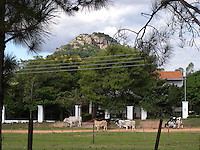 The mountain or hill of Paraguari, Paraguay