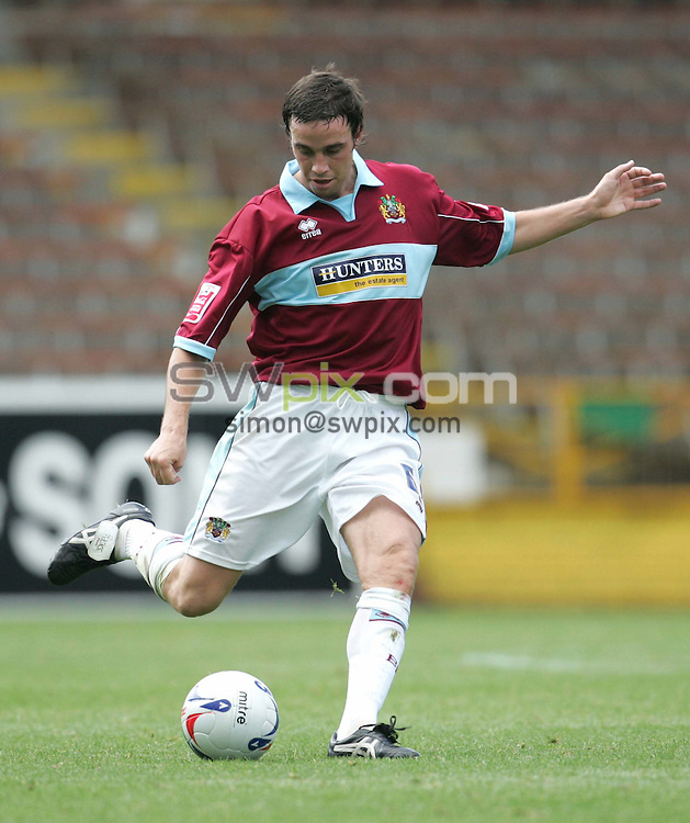 Pix by JOHN CLIFTON/SWpix.com - Burnley v Coventry City, Football, Coca Cola Championship, Turf Moor, Burnley, 13/08/05..Picture Copyright >> Simon Wilkinson >> 07811267706..Burnley's Michael Duff