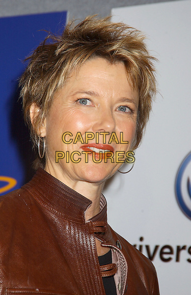 "ANNETTE BENING.""Mrs. Harris"" Press Conference held at Sutton Place Hotel..Toronto Film Festival 2005.September 17th, 2005 .Photo Credit: Laura Farr/AdMedia/Capital Pictures.Ref: LF/ADM/CAP.headshot portrait hoop earrings.www.capitalpictures.com.sales@capitalpictures.com.© Capital Pictures."