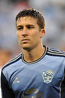 Sporting Park, Kansas City, Kansas, July 31 2013:<br /> Matt Besler (5) defender MLS All-Stars <br /> MLS All-Stars were defeated 3-1 by AS Roma at Sporting Park, Kansas City, KS in the 2013 AT & T All-Star game.