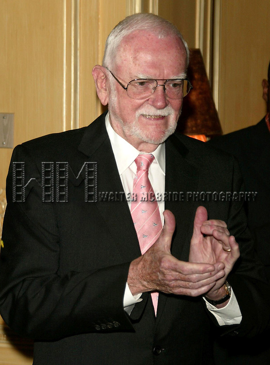 Frank Pierson.( President of the Academy Awards ).Attending a New York celebration in anticipation of director Sidney Lumet's Honorary Academy Award, which will be presented at the upcoming 77th Annual Academy Awards at Arabelle at the Plaza Athenee in New York City..February 23, 2005.