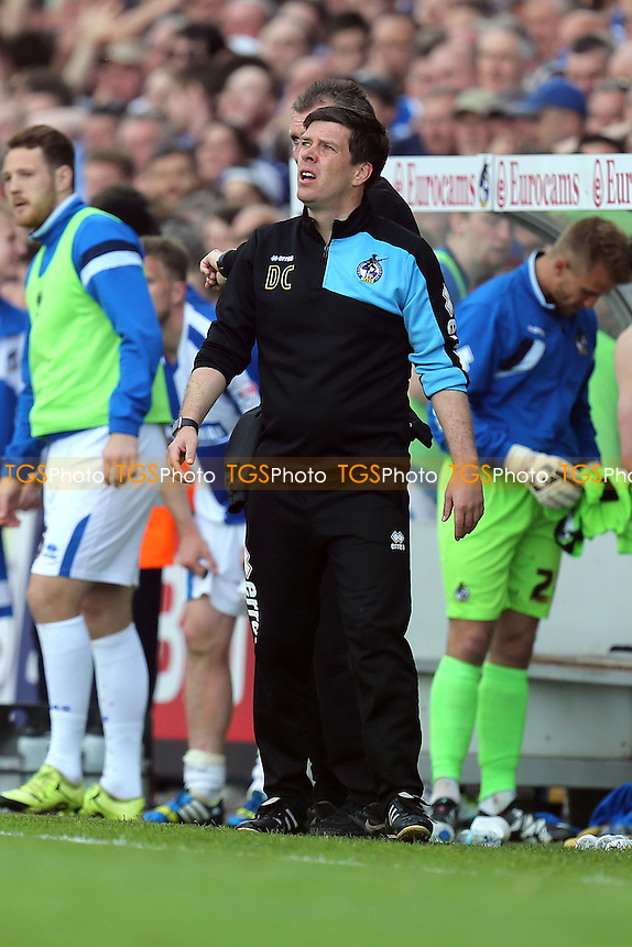 Bristol Rovers manager Darrell Clarke during Bristol Rovers vs Dagenham and Redbridge, Sky Bet League 2 Football at the Memorial Stadium on 7th May 2016