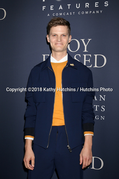 """LOS ANGELES - OCT 29:  David Joseph Craig at the """"Boy Erased"""" Premiere at the Directors Guild of America Theater on October 29, 2018 in Los Angeles, CA"""