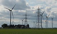 Flixborough Grange Wind Farm, Flixborough, Scunthorpe, South Humberside.