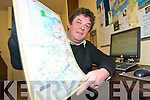 ON THE MAP: Mike Cahillane from the Castlegregory Community Council detailing plans for their new website www.visitcastlegregory.com