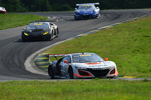 Pirelli World Challenge<br /> Grand Prix of VIR<br /> Virginia International Raceway, Alton, VA USA<br /> Saturday 29 April 2017<br /> Ryan Eversley/ Tom Dyer<br /> World Copyright: Richard Dole/LAT Images<br /> ref: Digital Image RD_PWCVIR_17_233