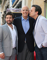 HOLLYWOOD, CA - AUGUST 8: Joe Lewis, Jeffrey Tambor, Mitchell Hurwitz, at Jeffrey Tambor Honored With Star On The Hollywood Walk Of Fame at On The Hollywood Walk Of Fame in  Hollywood, California on August 8, 2017. <br /> CAP/MPIFS<br /> &copy;MPIFS/Capital Pictures