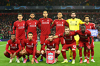 The Liverpool players line up for a team photo prior to the match<br /> <br /> Photographer Richard Martin-Roberts/CameraSport<br /> <br /> UEFA Champions League Group C - Liverpool v Crvena Zvezda - Wednesday 24th October 2018 - Anfield - Liverpool<br />  <br /> World Copyright © 2018 CameraSport. All rights reserved. 43 Linden Ave. Countesthorpe. Leicester. England. LE8 5PG - Tel: +44 (0) 116 277 4147 - admin@camerasport.com - www.camerasport.com