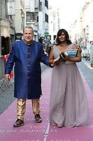 Alain Delon, invit&eacute; d'Honneur,  annonce sa retraite  pour la fin 2017, lors du Festival du film policier de Li&egrave;ge 2017.<br /> Alain Delon a annonc&eacute; vendredi 5 mai en pr&eacute;lude &agrave; la remise d'un Big up d'honneur au Festival International du Film Policier de Li&egrave;ge qu'il allait tourner &agrave; l'automne 2017 un film avec Juliette Binoche, dirig&eacute; par Patrice Leconte. <br /> &quot;Ce sera mon tout dernier film car, comme un boxeur qui ne veut pas faire le combat de trop, je souhaite ne pas faire le film de trop&quot;.<br /> Belgique, Li&egrave;ge, 5 mai 2017.<br /> French actor Alain Delon announces the end of his movie career by the end of 2017, while attending the International Liege Police Film Festival in Belgium.<br /> Alain Delon will be filming his very last movie of his career next fall.<br /> Belgium, Li&egrave;ge, 5 May  2017<br /> Pic :  Paul-Loup Sulitzer