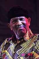 LONDON, ENGLAND - APRIL 12: Roy Ayers performing at Union Chapel on April 12, 2019 in London, England.<br /> CAP/MAR<br /> ©MAR/Capital Pictures
