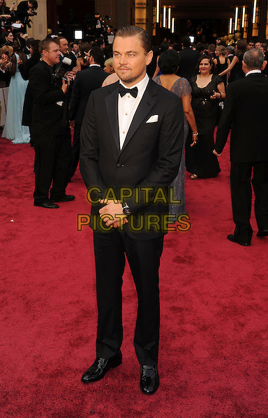 HOLLYWOOD, CA- MARCH 02: Actor Leonardo DiCaprio attends the 86th Annual Academy Awards held at Hollywood &amp; Highland Center on March 2, 2014 in Hollywood, California.<br /> CAP/ROT/TM<br /> &copy;Tony Michaels/Roth Stock/Capital Pictures