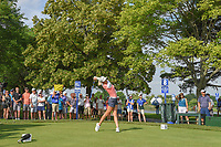 Michelle Wie (USA) watches her tee shot on 8 during round 4 of the 2018 KPMG Women's PGA Championship, Kemper Lakes Golf Club, at Kildeer, Illinois, USA. 7/1/2018.<br /> Picture: Golffile | Ken Murray<br /> <br /> All photo usage must carry mandatory copyright credit (&copy; Golffile | Ken Murray)