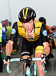 Steven Kruijswijk (NED) Team LottoNL-Jumbo on the final climb of Stage 17 of the La Vuelta 2018, running 157km from Getxo to Balcón de Bizkaia, Spain. 12th September 2018.                   <br /> Picture: Colin Flockton | Cyclefile<br /> <br /> <br /> All photos usage must carry mandatory copyright credit (© Cyclefile | Colin Flockton)