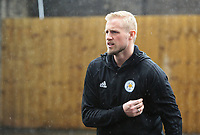 Leicester City's Kasper Schmeichel arrives at Turf Moor ahead of kick-off<br /> <br /> Photographer Rich Linley/CameraSport<br /> <br /> The Premier League - Burnley v Leicester City - Saturday 16th March 2019 - Turf Moor - Burnley<br /> <br /> World Copyright © 2019 CameraSport. All rights reserved. 43 Linden Ave. Countesthorpe. Leicester. England. LE8 5PG - Tel: +44 (0) 116 277 4147 - admin@camerasport.com - www.camerasport.com
