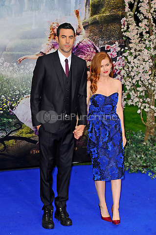 LONDON, ENGLAND - MAY 10: Sacha Baron Cohen and Isla Fisher attending the 'Alice Through The Looking Glass' European Premiere at Odeon Cinema, Leicester Square in London. on May 10, 2016 in London, England.<br /> CAP/MAR<br /> &copy; Martin Harris/Capital Pictures /MediaPunch ***NORTH AND SOUTH AMERICA ONLY***