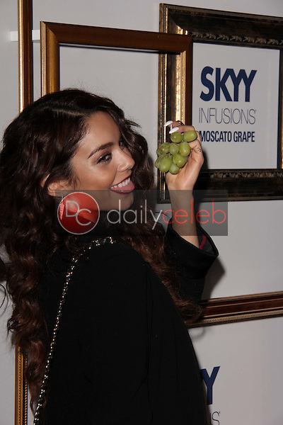 Vanessa Hudgens<br /> at the House Of Moscato Presented by Skyy Infusions Moscato Grape, Greystone Manor, Los Angeles, CA 04-24-13<br /> David Edwards/Dailyceleb.com 818-249-4998
