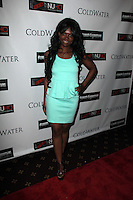 """Shannell Stone<br /> at the NuHo Online Film Fest (NoHoFilmFest.com) Premiere of """"Coldwater,"""" Bigfoot Crest Theater, Westwood, CA 01-09-14<br /> David Edwards/DailyCeleb.com 818-249-4998"""