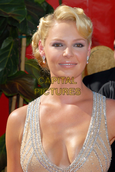 KATHERINE HEIGL.58th Annual Primetime Emmy Awards held at the Shrine Auditorium, Los Angeles, California, USA..August 27th, 2006.Ref: ADM/CH.headshot portrait .www.capitalpictures.com.sales@capitalpictures.com.©Charles Harris/AdMedia/Capital Pictures.