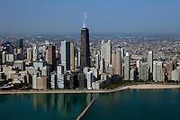 aerial photograph Chicago, Illinois