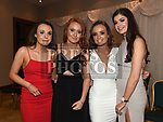 Aoibhinn Butler, Aisling Haigney, Katie Connell and Tess O'Neill at the St. Colmcilles gala ball in City North hotel. Photo:Colin Bell/pressphotos.ie