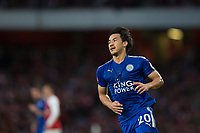 Leicester City's Shinji Okazaki<br /> <br /> Photographer Craig Mercer/CameraSport<br /> <br /> The Premier League - Arsenal v Leicester City - Friday 11th August 2017 - Emirates Stadium - London<br /> <br /> World Copyright &copy; 2017 CameraSport. All rights reserved. 43 Linden Ave. Countesthorpe. Leicester. England. LE8 5PG - Tel: +44 (0) 116 277 4147 - admin@camerasport.com - www.camerasport.com