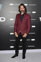 HOLLYWOOD, CA - SEPTEMBER 28: Jeff Daniel Phillips at the premiere of HBO's 'Westworld' at TCL Chinese Theatre on September 28, 2016 in Hollywood, California. Credit: David Edwards/MediaPunch