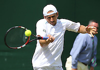 BENJAMIN BECKER (GER)<br /> <br /> The Championships Wimbledon 2014 - The All England Lawn Tennis Club -  London - UK -  ATP - ITF - WTA-2014  - Grand Slam - Great Britain -  25th. June 2014. <br /> <br /> © J.Hasenkopf / Tennis Photo Network
