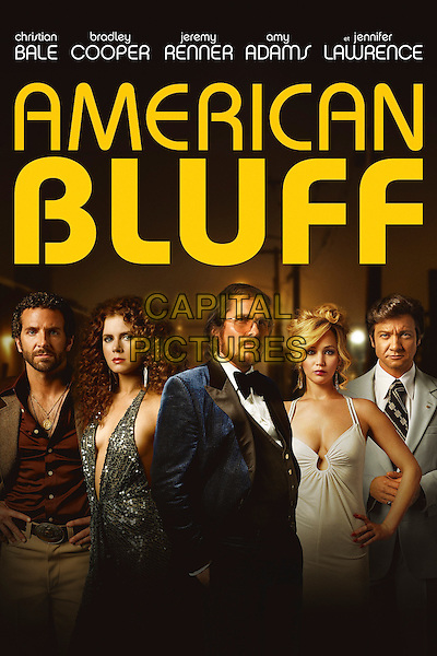 American Hustle (2013) <br /> POSTER ART<br /> *Filmstill - Editorial Use Only*<br /> CAP/KFS<br /> Image supplied by Capital Pictures