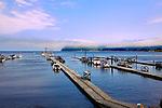 Clallam Bay, near the west end of the Strait of Juan de Fuca and the fishing community of Sekiu. Olympic Penninsula, Washington. The fishing community of Sekiu anchors the bay.   Outdoor Adventure. Olympic Peninsula